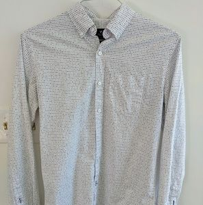 American Eagle Patterned Button Down